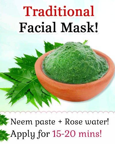 Neem for Homemade Face Pack for Acne-prone Skin