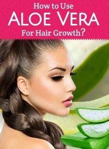 Aloe vera for Hair Treatment