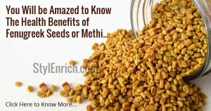 Fenugreek Seeds Benefits for Overall Health
