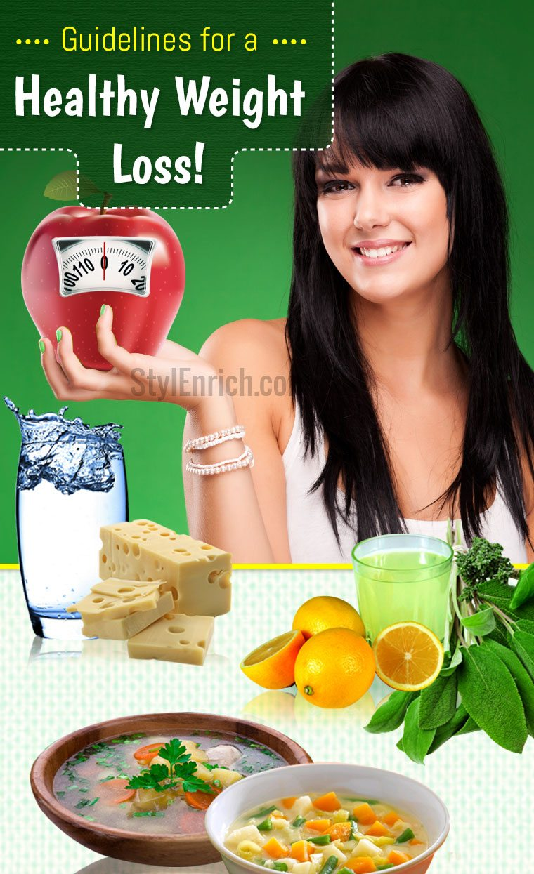 Guidelines For a Healthy Weight Loss
