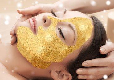 How to do a gold facial