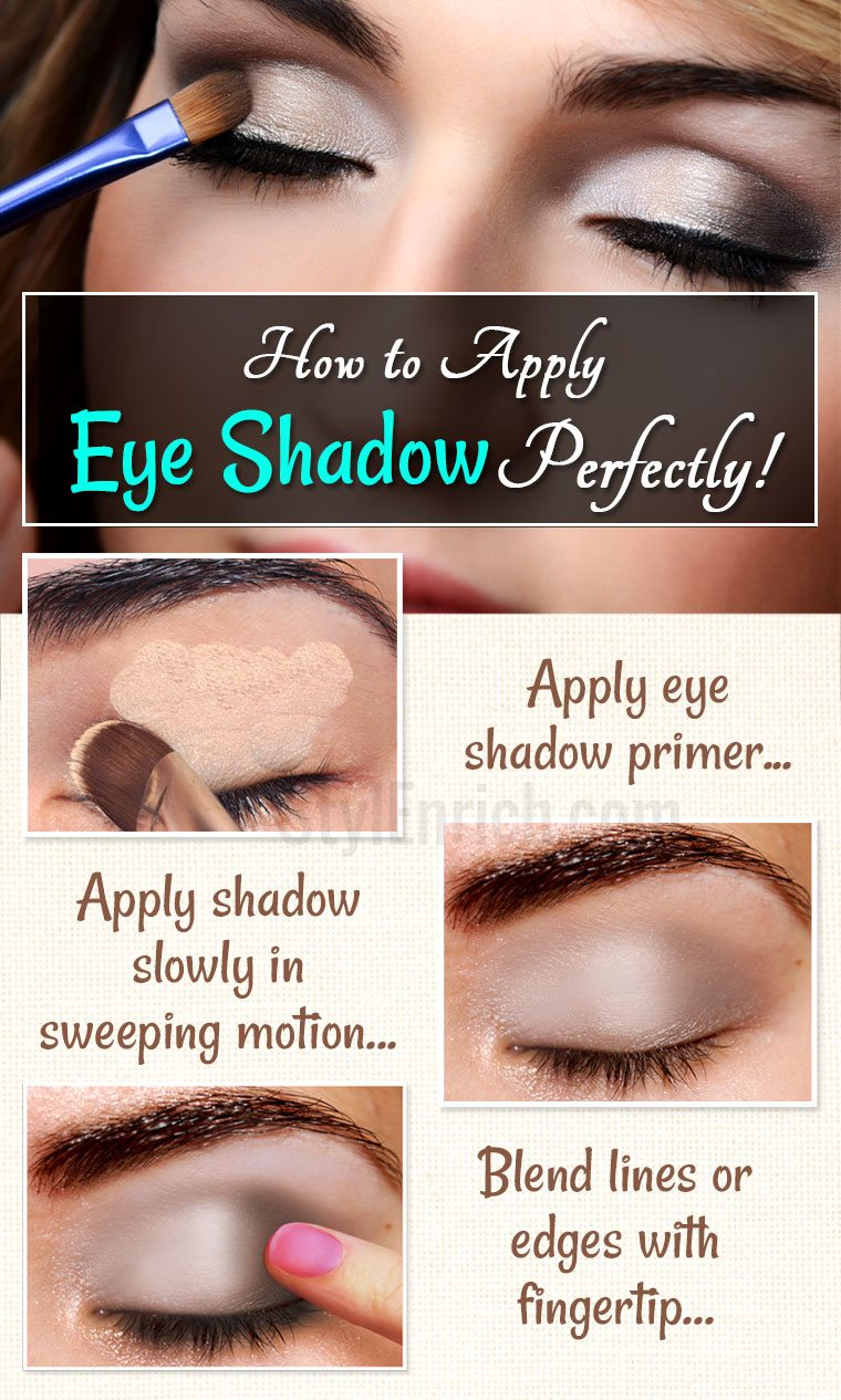 How To Apply Eye Shadow?