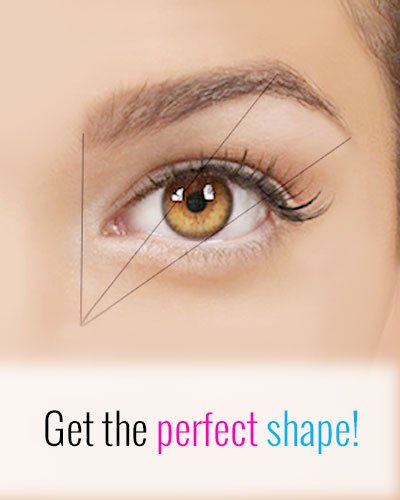 Give a Perfect Shape to Your Eyebrows