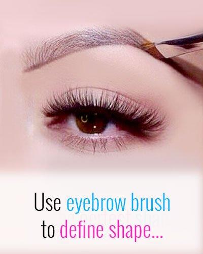 How To Use Eyebrow Brush