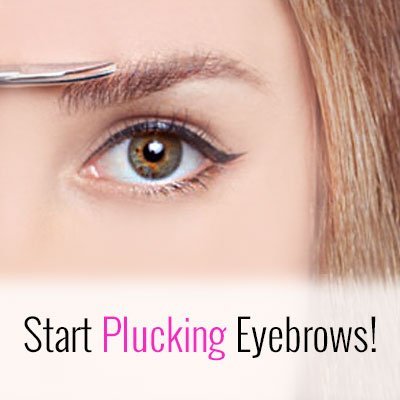 Plucking Eyebrows