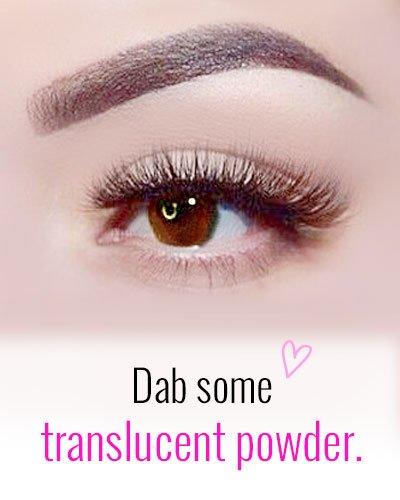 Translucent Powder For Eyebrows