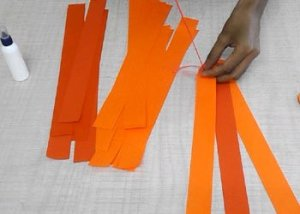 How-to-make-pumpkin-paper-craft