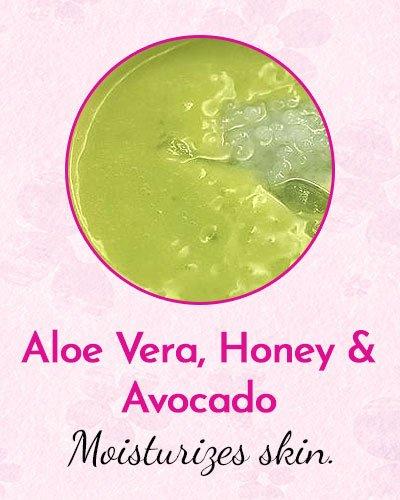 Aloe Vera, Honey and Avocado Face Mask