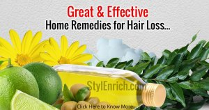 Homemade Remedies for Hair Loss