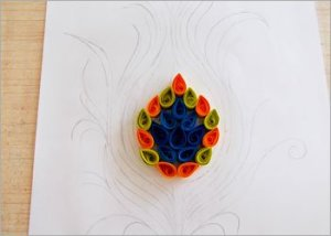 Peacock-feather-easy-paper-craft