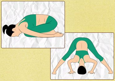 Easy yoga poses for lower back pain