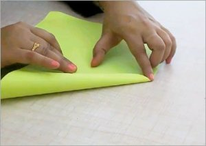 Easy-origami-frog
