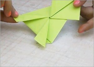 Jumping-frog-paper-craft