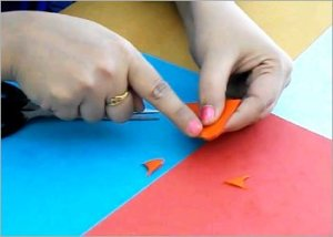 Origami-butterfly-making