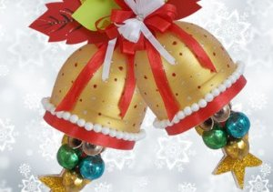 Recycled Bottle Craft for Christmas Decoration
