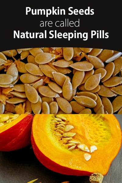 Pumpkin Seeds are Natural Sleeping Pills
