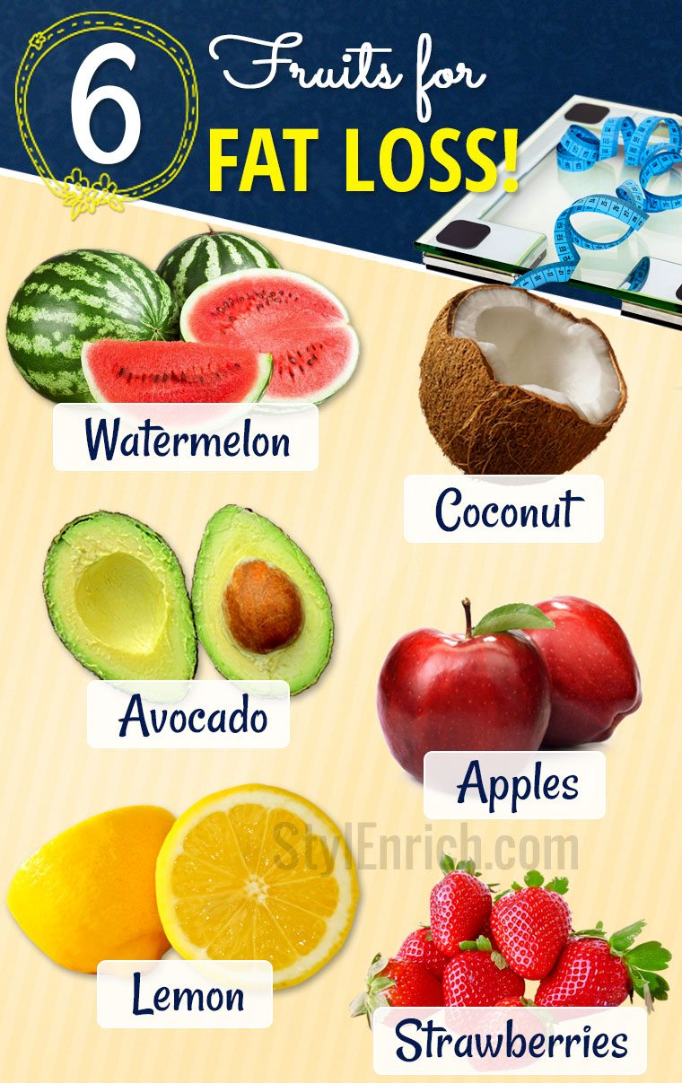Top fruits for fat loss