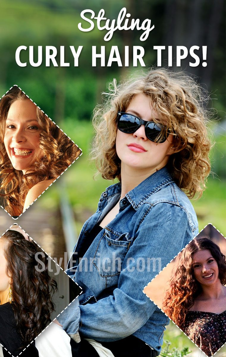 Styling Curly Hair Tips