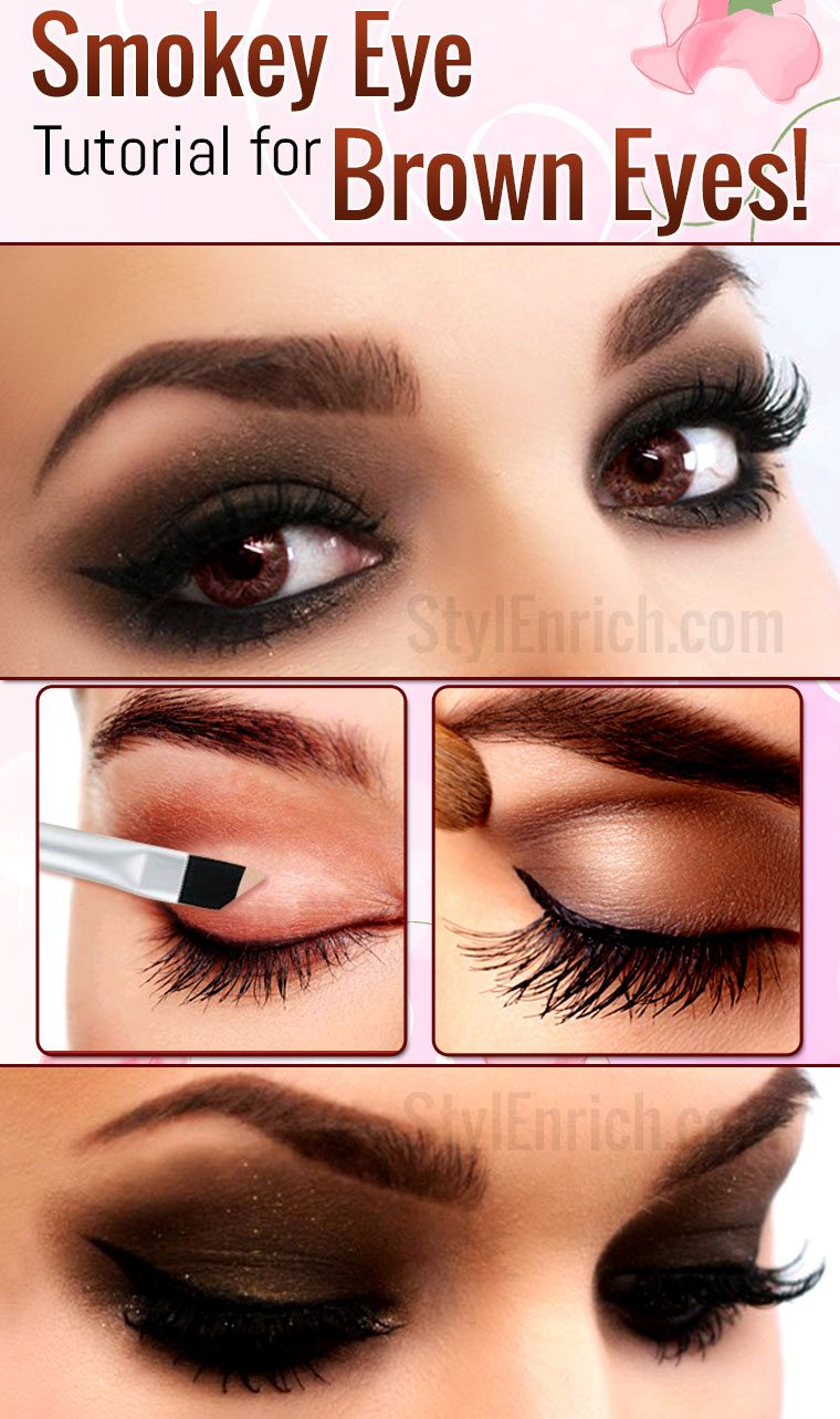 Smokey Eye Makeup How To Do Smokey Eye Makeup For Brown Eyes