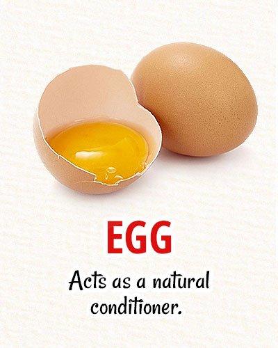 Egg For Natural Hair Restoration