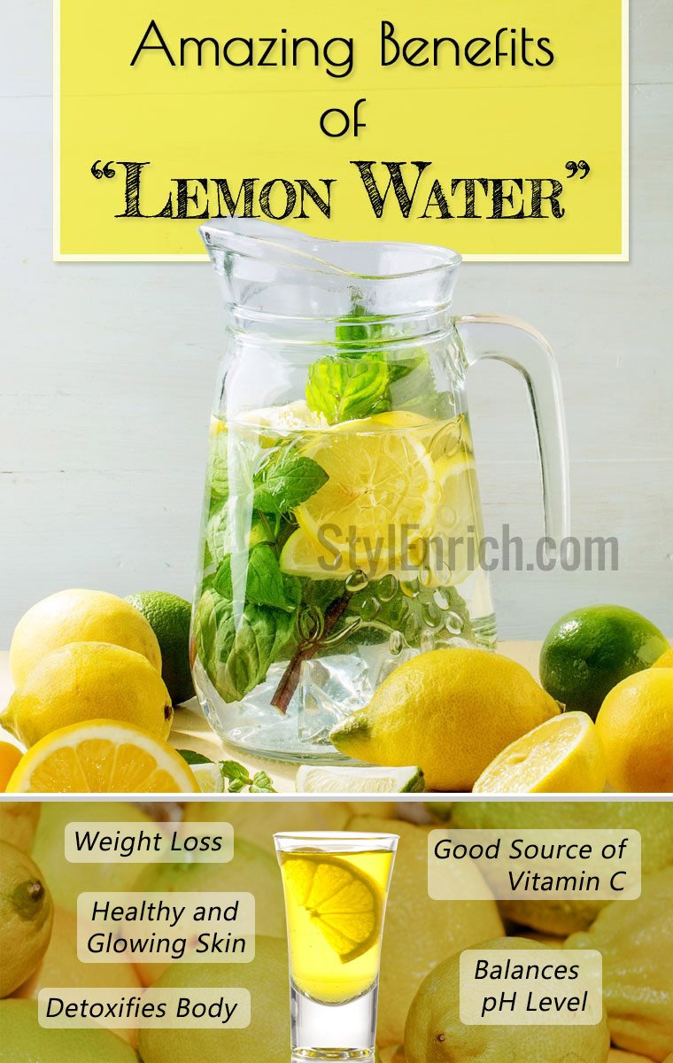 Lemon Water Health Benefits for Weight Loss and Skin care
