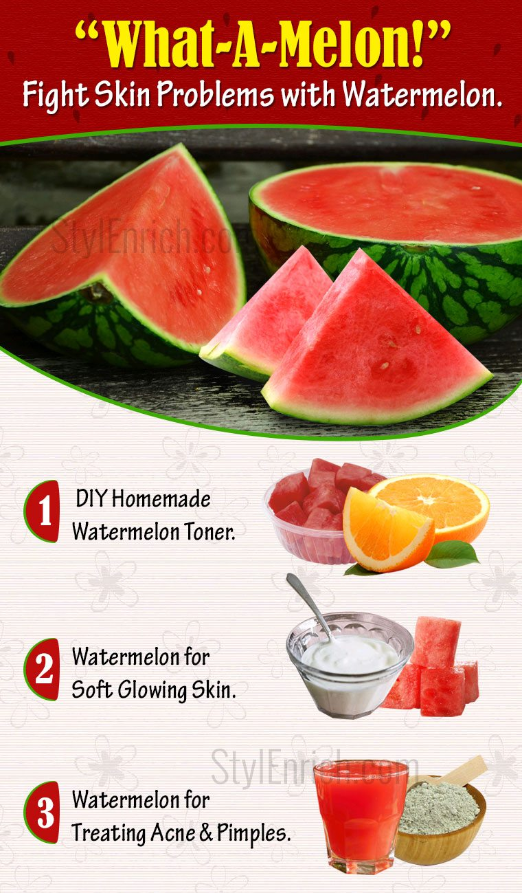Watermelon Benefits for Skin