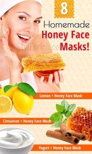 Homemade honey face masks