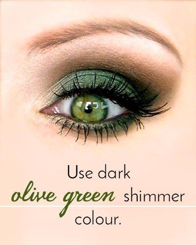 Green Eyeshadow for Green Eyes