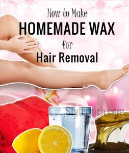 Homemade Wax for Hair Removal!