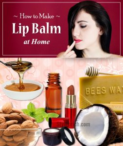 Learn How to Make Lip Balm at Home!