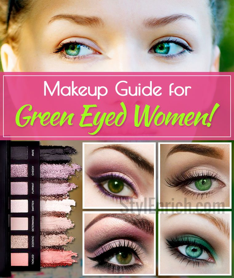 Makeup Guide for Green Eyed Women