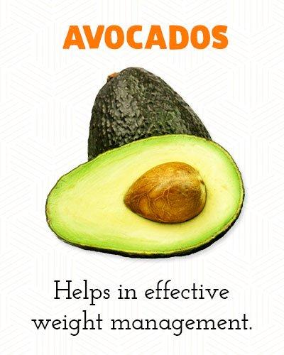 Avocado's om buikvet te verliezen