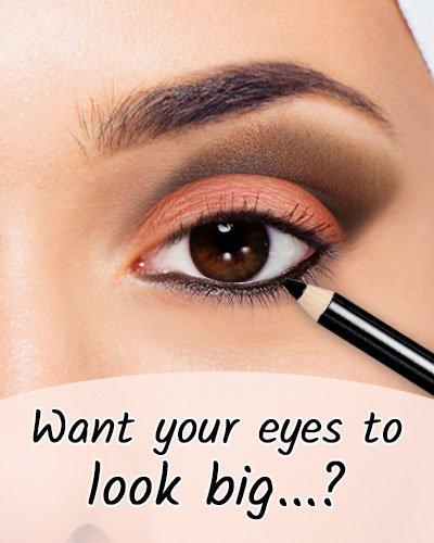 Black Eyeliner To Make Eye Look Big