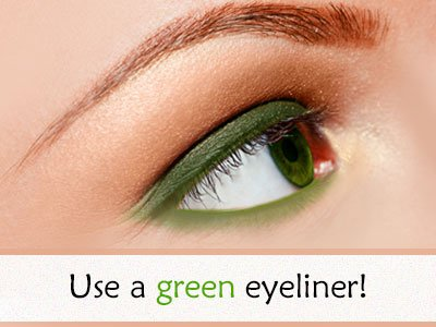 Green Eyeliner For Green Eyes