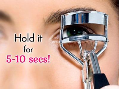 How to Use Eyelash Curler