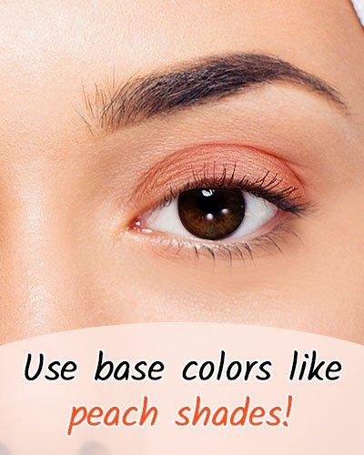Peach Shade For Black Eyes