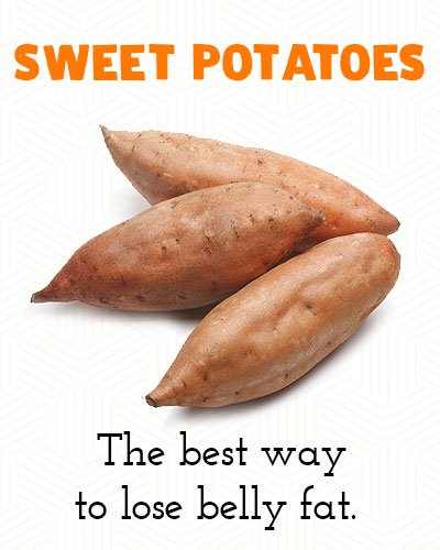 Sweet Potatoes to Lose Belly Fat