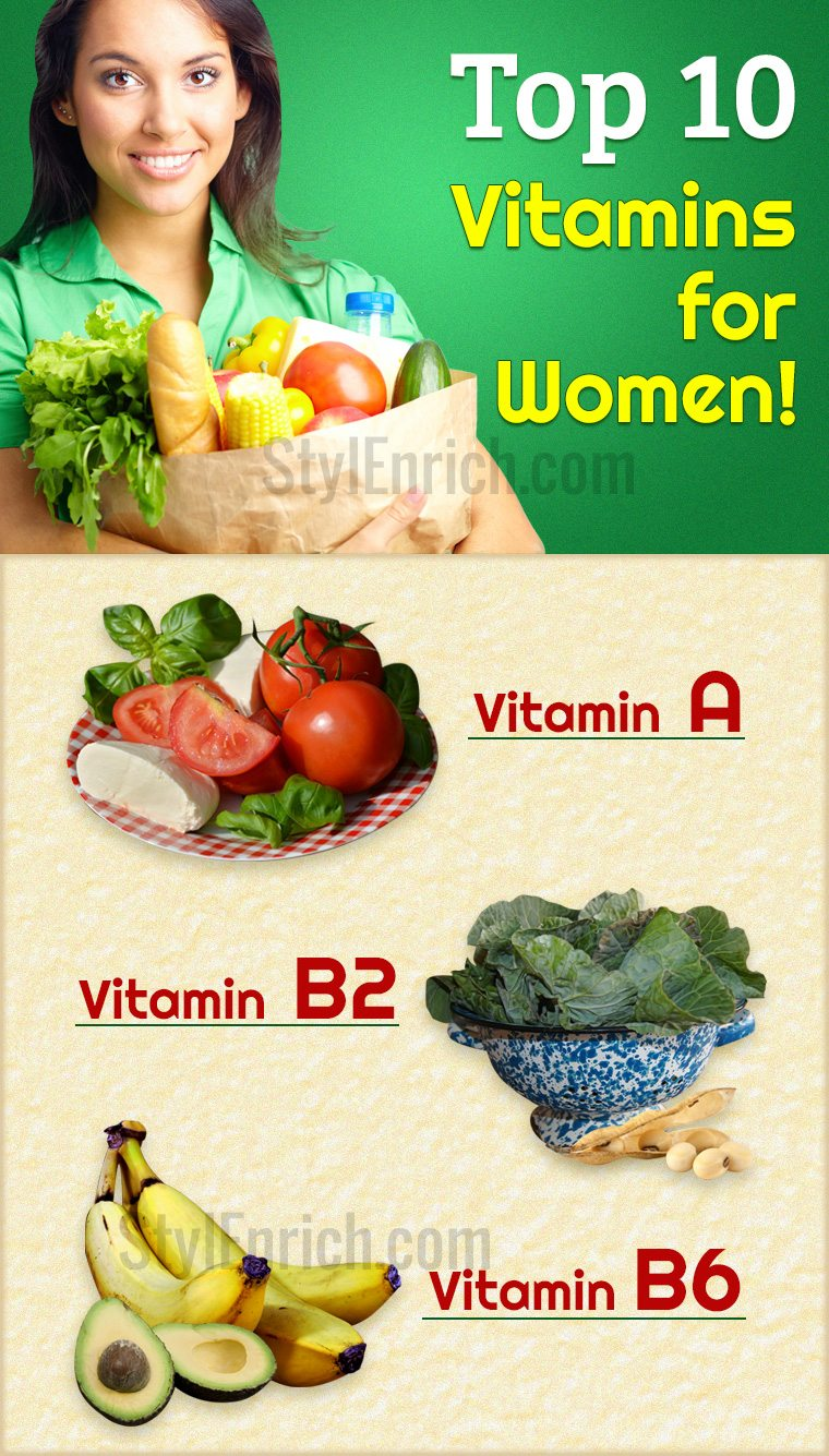 Top 10 Vitamins for Women
