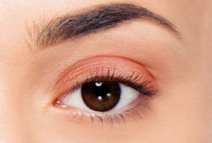 Apply lighter shade on the upper eyelid