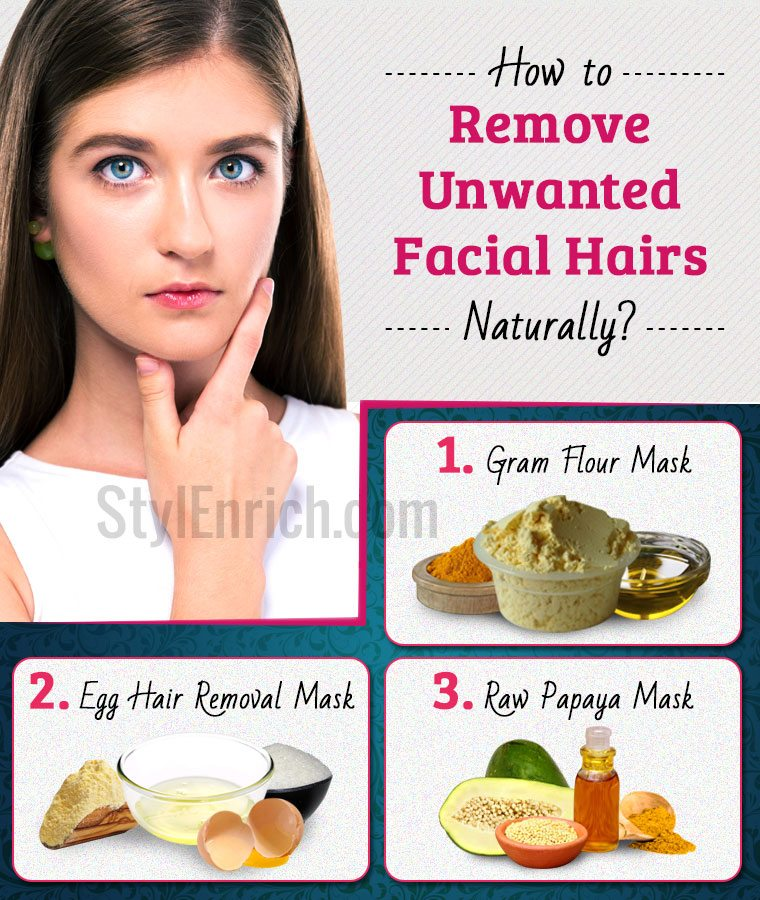 How to Remove Hair on Face