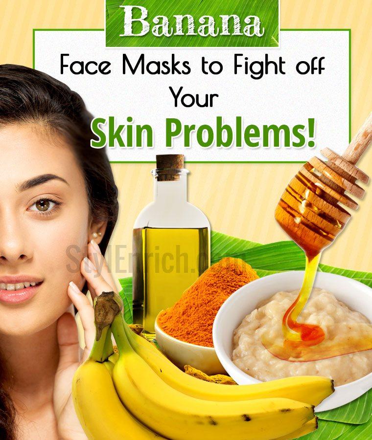 Banana Face Masks