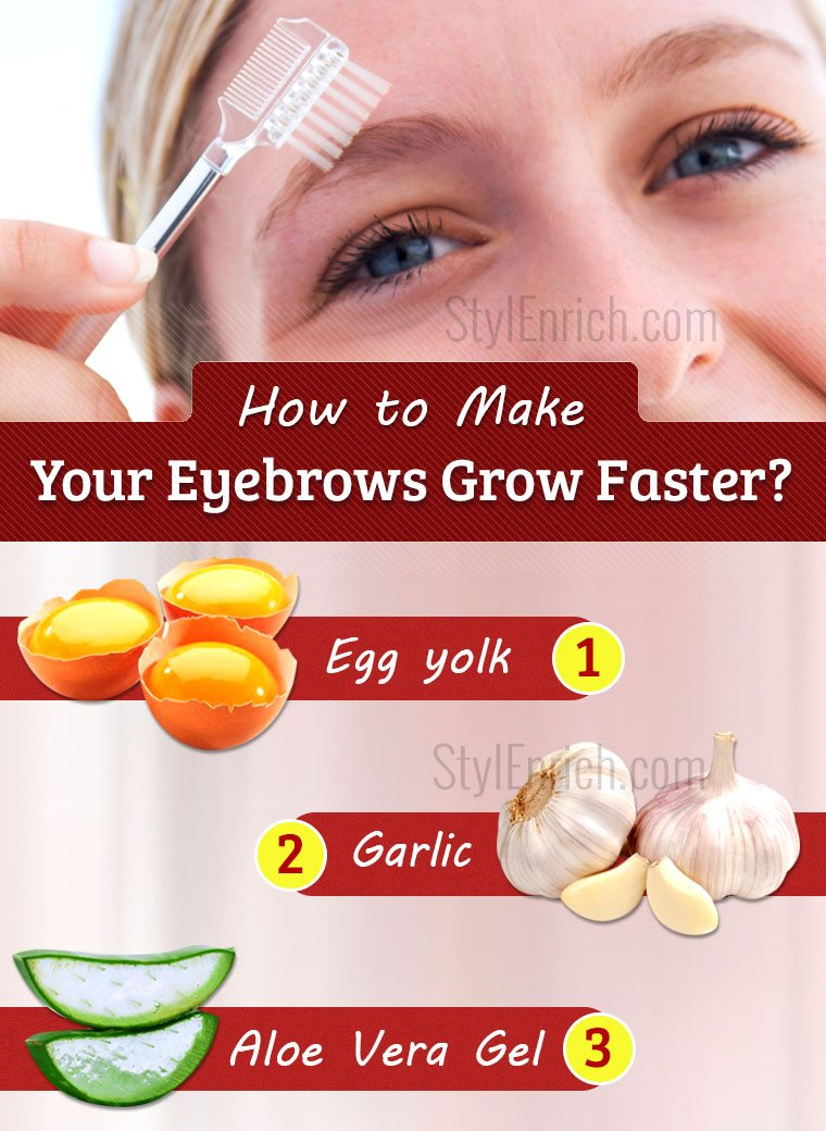 How to Make Your Eyebrows Grow Faster