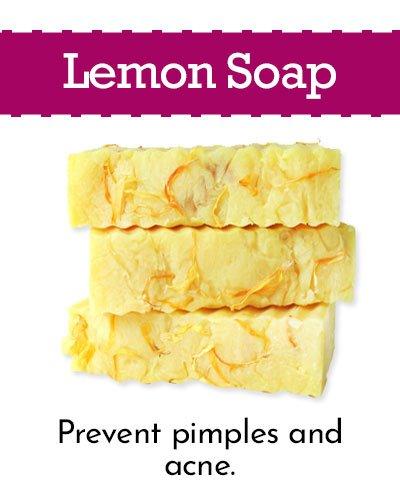 Lemon Homemade Soap