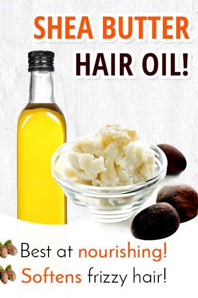Shea Butter Hair Oil for Hair Growth