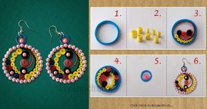 Paper-quilling-earrings