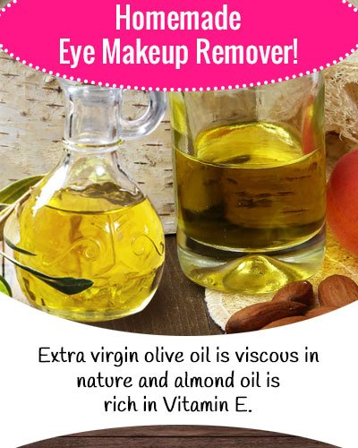 Almond Oil Eye Makeup Remover
