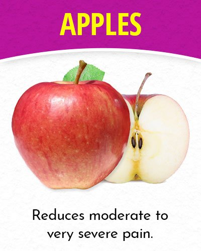 Apples for Migraines