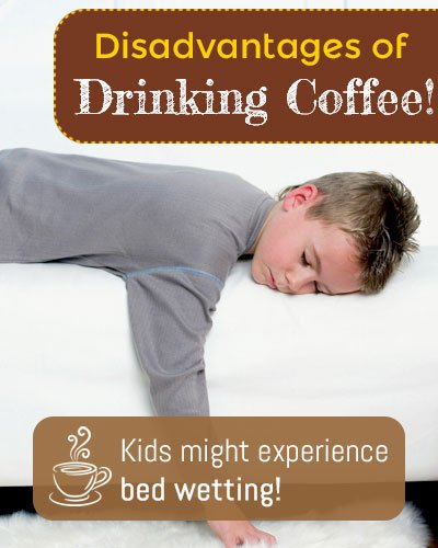 Bad Effect of Coffee For Kids