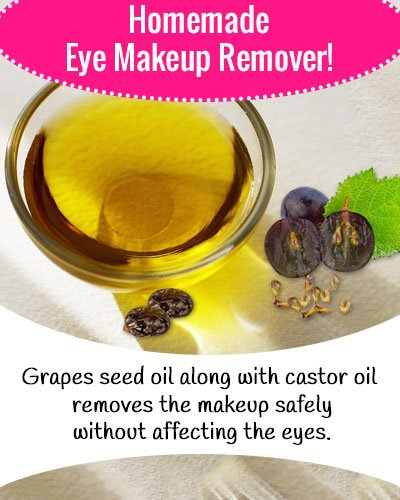Castor Oil Eye Makeup Remover