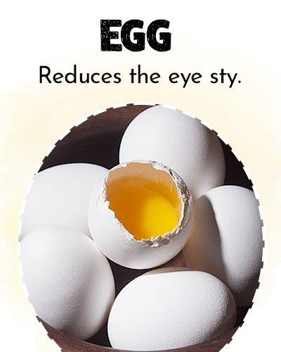 Egg For Eye Stye